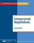 Interpersonal Negotiations
