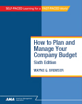 How to Plan and Manage Your Company Budget